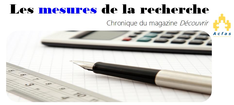 Chronique_Mesures de la recherche