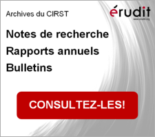 Nos archives sur Érudit